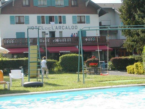 Hotel Arcalod: autre vue de l'hôtel