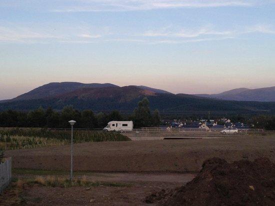 Aviemore Hillside Lodge: The Noisy A9 plus lorries