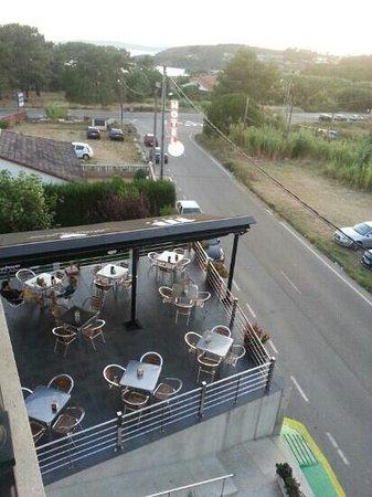 Hotel Ronsel: terraza del hotel
