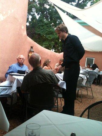 Lambert's of Taos: Courtyard Seating