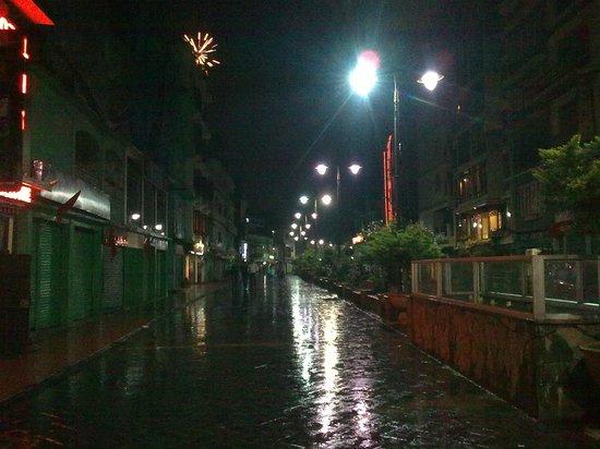 Anola Hotel : MG Road at Night