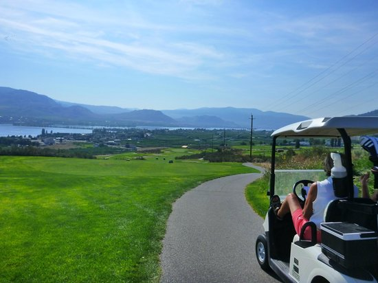 Osoyoos Golf Club: lovely view