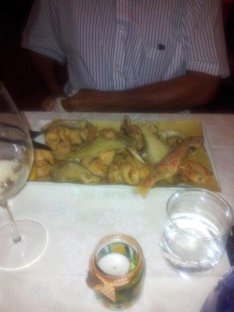 Osteria D'Al Maso: ottimo fritto di paranza