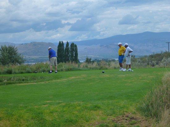 Osoyoos Golf Club: buddies getting together