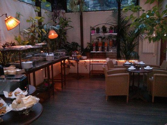 Best Western Premier Trocadero La Tour : restaurant