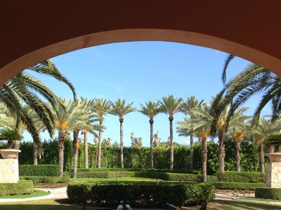 Hilton Los Cabos Beach & Golf Resort: view from entrance of hotel