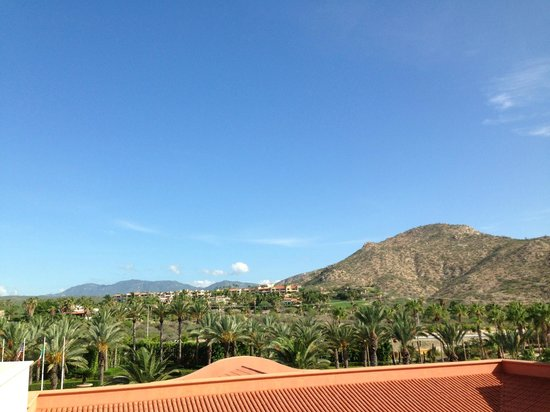 Hilton Los Cabos Beach & Golf Resort: view from hotel room front door