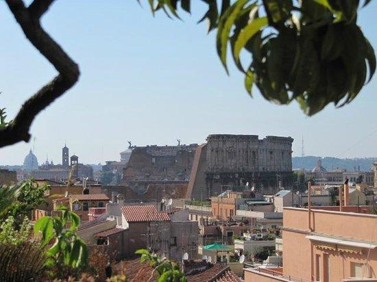 Hotel Lancelot: Vista di Roma dalla terrazza panoramica del Lancelot