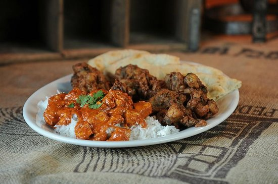 Ricky's Country Restaurant: Butter Chicken Platter