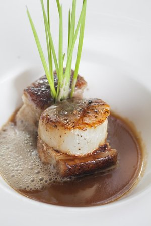 Marco Prime Steaks & Seafood: MP sea scallops and pork belly
