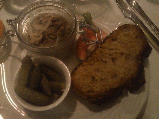 Auberge la Feniere: Paté de foie