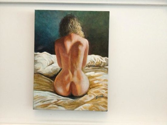 """Gallery 7: Acrylic by Anne Sasso """"Solitude"""""""