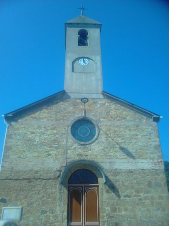 Hotel Galatea: Iglesia de Burela a 200 m H.Galatea