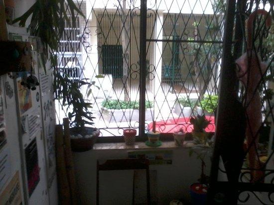 El Misti House: a entrada