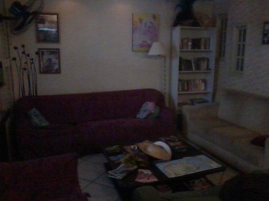 El Misti House: a sala