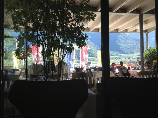 Lindenhof Active Relax Resort: View from bar area