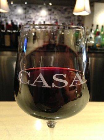 Casa Domenico : Great wine selection