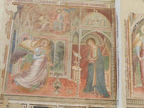 Church of San Francesco Arezzo: Affresco