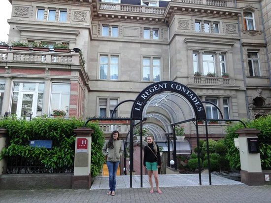 Regent Contades : Entrada do Hotel