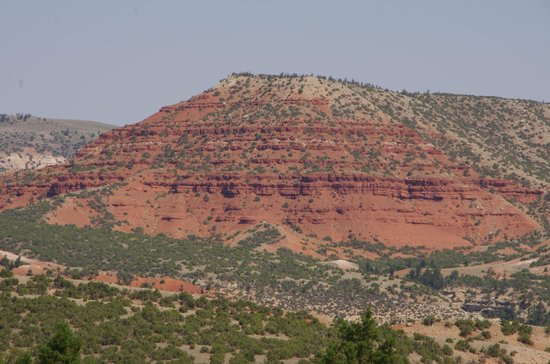 Bighorn Canyon National Recreation Area: Red Rocks