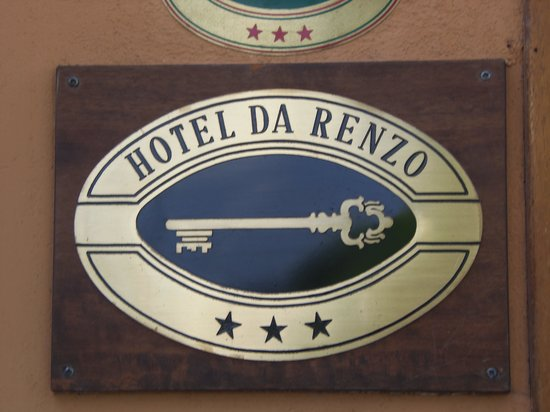 entrance to the Locanda da Renzo