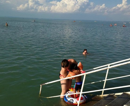 Hotel Lido: Hotel's Direct Access to the Lake