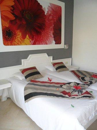 One Resort Monastir : déco chambre à l'arrivée