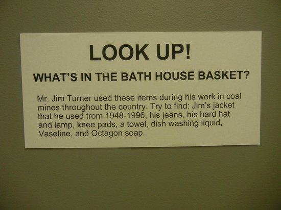 Children's Museum of Oak Ridge: Coal Mining