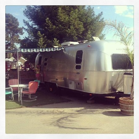 La Selva Beach, Kalifornia: Our Airstream A001