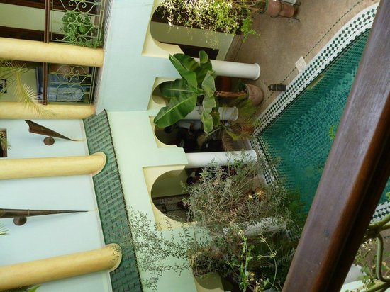 Riad Alida : cortile