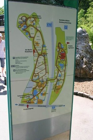 Zoo Map Picture of Zoo Duisburg Duisburg TripAdvisor