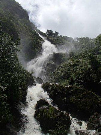 Thai Binh Sapa Hotel: Silver waterfall