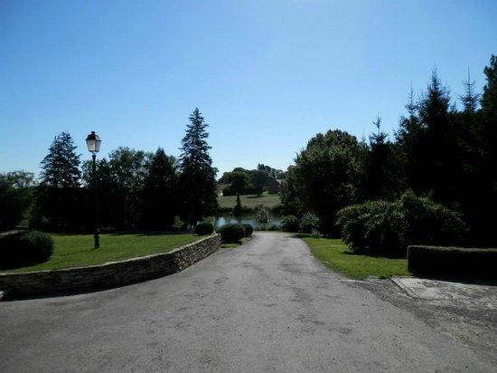 Domaine de la Ferriere : The grounds