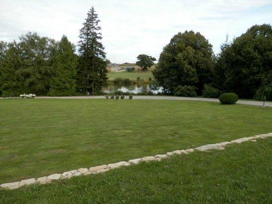 Domaine de la Ferriere : view from our room