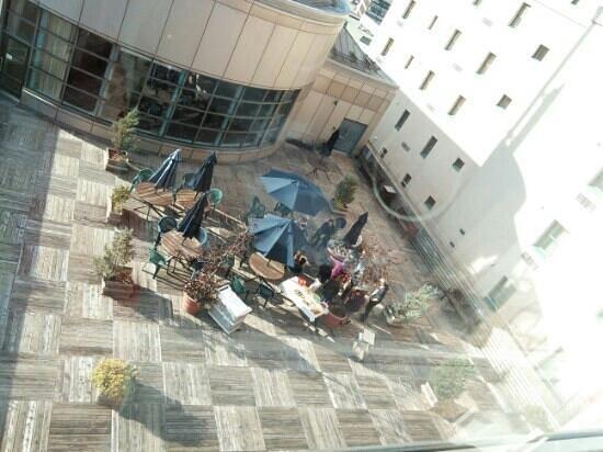 Hotel Manoir Victoria : terrace
