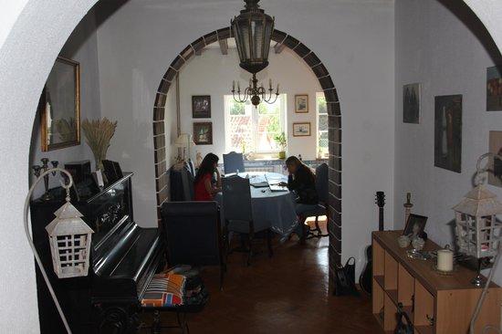 Casalinho de Santo Antonio: Zona de wifi