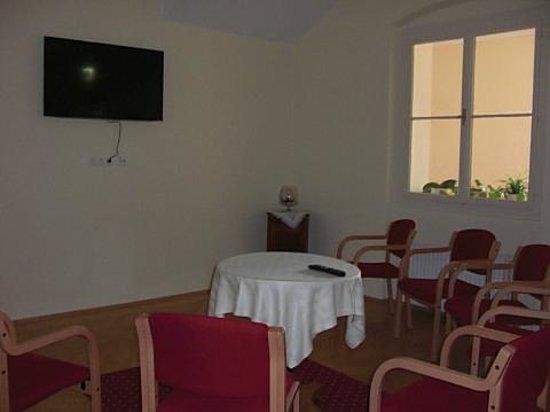 Gästehaus im Priesterseminar Salzburg: テレビルーム