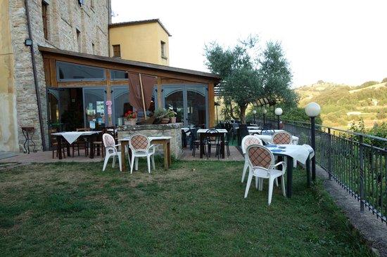 Locanda Dei Fiorucci : The terrace