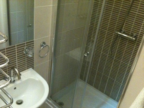 Stracey Hotel: my shower ensuite