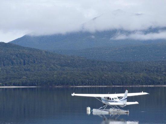 Float-plane on Lake Te Anau