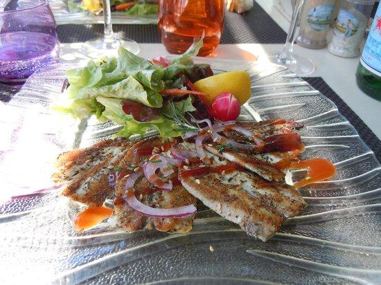 K Ré d'Ars : sardines à la plancha
