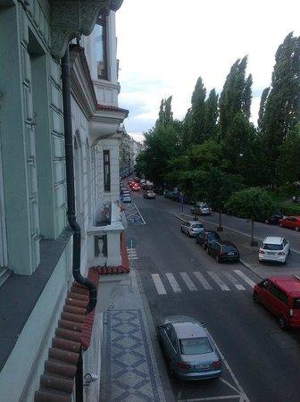 Janacek Palace Residence: View from Hotel balcony