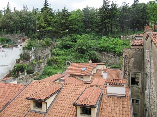Hotel Città di Parenzo: Η θέα απο το δωμάτιο μας