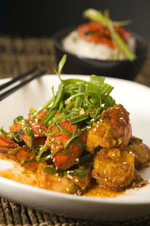 Yum Cha Asian Eatery: Sauteed Lobster