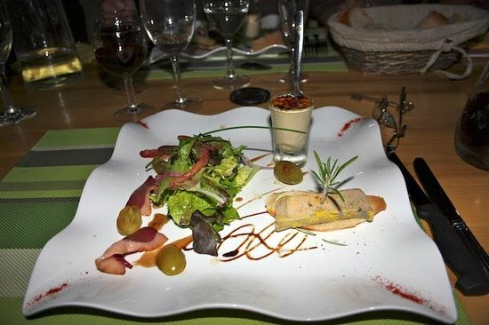 Le Lavalette: La Valette set menu in the evening