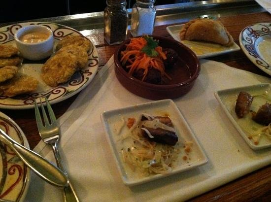 Cuba Libre Restaurant & Rum Bar - Orlando : tapas for dinner is great