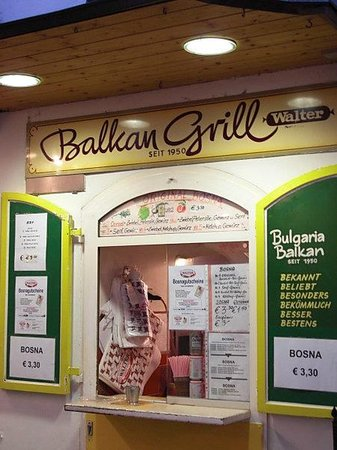 Photo of Fast Food Restaurant Balkan Grill Walter at Getreidegasse 33, Salzburg 5020, Austria