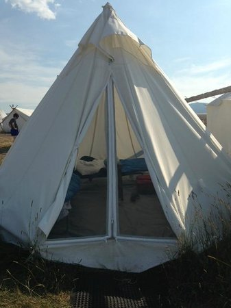 tippie - Picture of Under Canvas Yellowstone, West