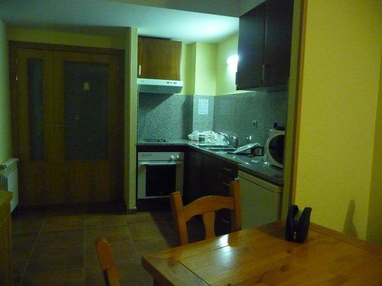 Apartamentos Sant Moritz: Pièce à bien vivre