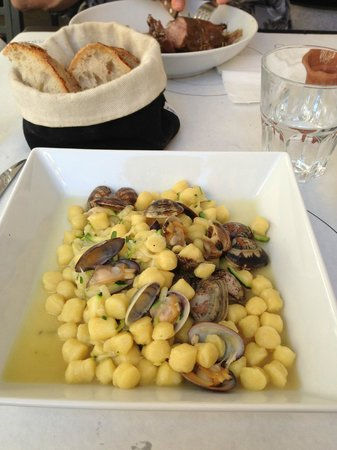 Tomoko Tudini : Gnocchi with clams